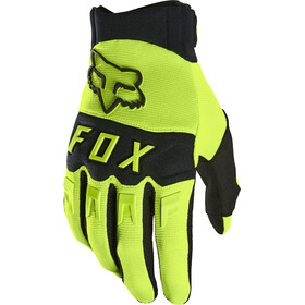 Fox Dirtpaw Gloves Men fluorescent yellow